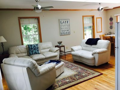 Photo for Adorable 2 br/1ba Cottage on 200' of Lakefront Footage on  Skaneateles Lake