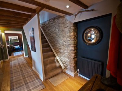 Photo for Luxuriously Restored Family Friendly 300 year old English Country Cottage