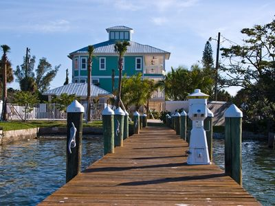 Photo for Executive style villa -- back waters of Estero Bay, Pool