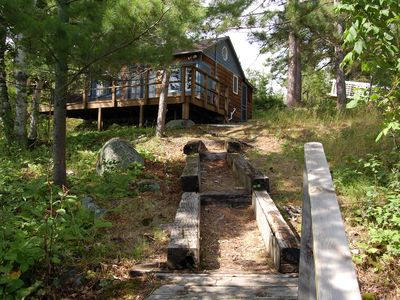 Photo for Lake Vermilion Cabin with Bunkhouse-- Pet-Friendly, Sleeps 5