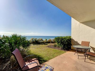 Photo for Gorgeous Gulf Front Condo ~ Ground Floor ~ Amazing View of the Gulf!