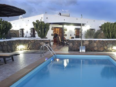 Photo for House with private pool in Lanzarote