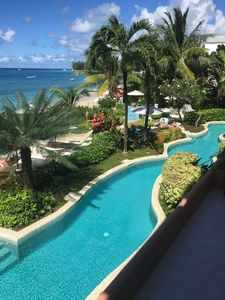 Photo for LUXURY BARBADOS 1 BEDROOM WITH STUNNING OCEANFRONT VIEWS