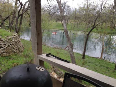 Photo for On The River, a Lazy RnR Wimberley cabin, free Paddleboat, Kayak