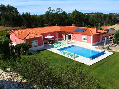 Photo for Villa with swimming pool, garden, volleyball net and nice views across the beautiful surroundings
