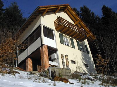 Photo for Linthal, detached chalet with veranda located in the mountains at 1050 meters altitude