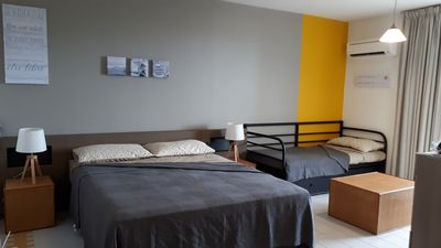 Photo for Nice fully equipped studio with open ocean view in the Manganao Residence.