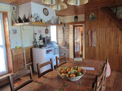 Photo for Village house with beautiful views of the mountains and Serre Ponçon lake.