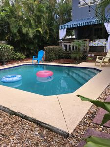 Photo for Cozy Poolside Delray Cottage