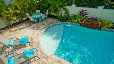 Photo for Mermaid! NO SHARING, NOT A DUPLEX - Beach Cottage w/ Private Pool!