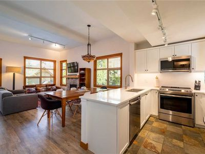 Photo for SKI IN/SKI OUT! Recently Renovated Kitchen & Bathrooms! Private Hot Tub!