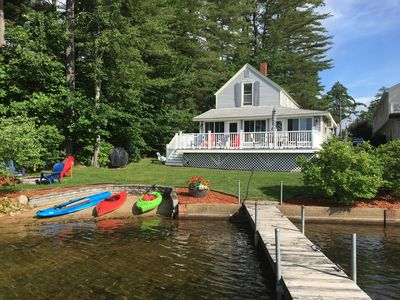 Photo for Clean Beautiful Waterfront Home With Sandy Beach For Children
