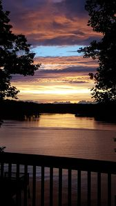Photo for Linger Longer - Beautiful sunsets and stunning lake views.