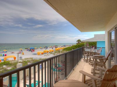 Photo for Spectacular Beachfront Condo.  Views and Location!
