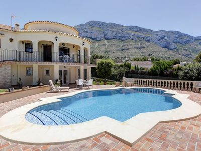 Photo for This 3-bedroom villa for up to 6 guests is located in Denia and has a private swimming pool.........
