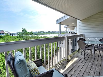 Photo for Intercoastal 204 Water View Condo! 2 min walk to the beach!
