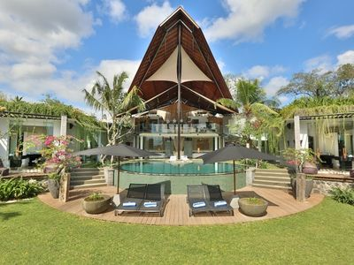 Photo for Toraja, Luxury 4 Bedroom Villa, Feature Garden, Canggu