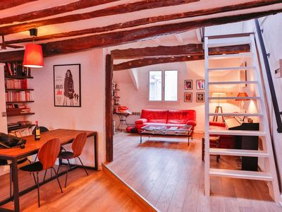 Photo for Cosy Duplex in the Marais#75m2#Beaubourg