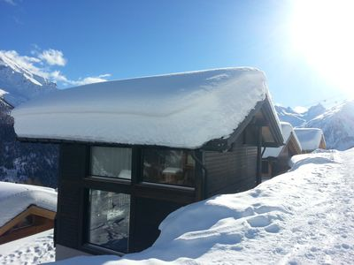 Photo for Large exclusive 6 room chalet (160m2) for 10 p on 2000m Lauchernalp / Lotschental,
