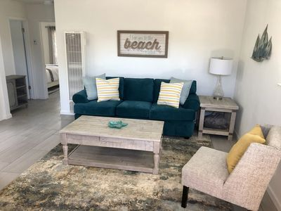 Photo for BRAND NEW REMODELED BEACH COTTAGE