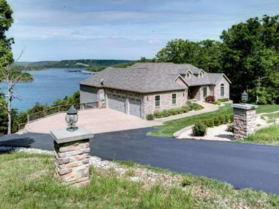Photo for Lakefront Luxury-- Private Pool & Hot Tub, pool table--Gorgeous Lake Views!