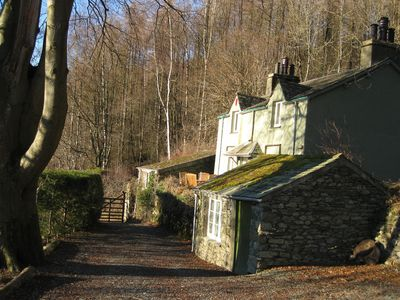 Photo for Stunning views from historic Grasmere cottage on Wordsworth's favourite walk