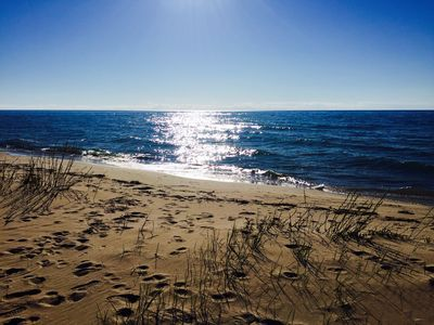Beach - updated on 5/8/16 - large sandy beach this year!