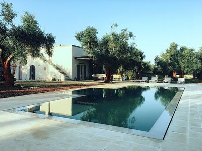Photo for Villa Raggio di Sole: An elegant and welcoming villa in the characteristic style of the Apulian countryside, with Free WI-FI.