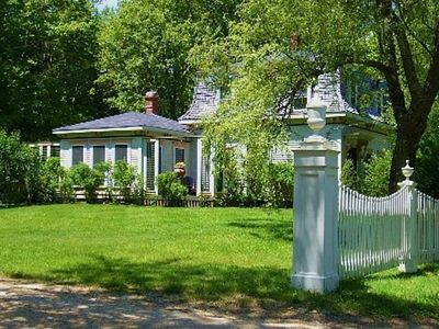 1880's Victorian Mansard Cottage in park like setting