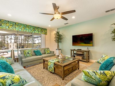 Photo for Luxury Executive South View Villa, Solterra Resort, minutes to Disney & golf