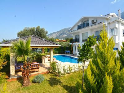 Photo for 3 bedroom luxuary city villas in oludeniz for rent with private pool and garden