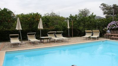 Photo for Lusal (D) studio with shared pool, parking and garden furniture in SorrentoCoast