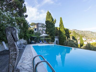 Photo for Historical villa with sea view and swimming pool
