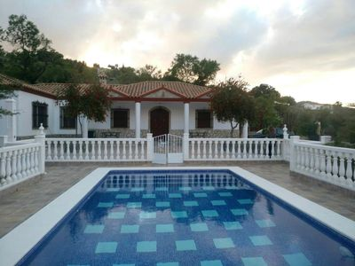 Photo for Homerez last minute deal - Big chalet with swimming-pool