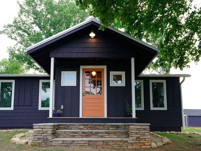 Photo for WALK to TIEC!  THE ORANGE DOOR  3br 2 ba LUXE MODERN FARMHOUSE COTTAGE