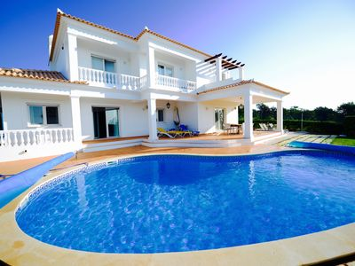 Photo for Private, 5 bedroom, 6 bathroom villa with views of sea and nature reserve