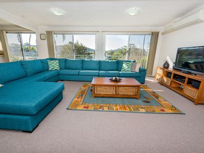 Photo for Recently renovated property with glimpses of Fingal Bay Beach!!