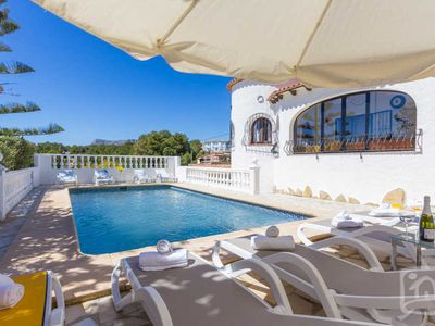 Photo for 6 bedroom Villa, sleeps 12 in Casas de Torrat with Pool, Air Con and WiFi