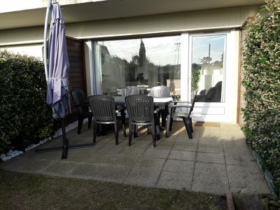 Photo for Apartment T2 Dinard 200m beach with garden