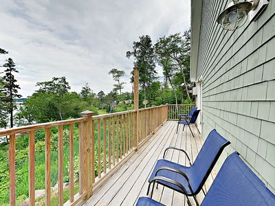 Photo for Stylish 2BR Condo at Sheepscot Harbor Resort - Balcony w/ River Views