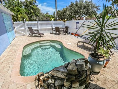 Photo for NEW LOWER RATES!!!! Experience our tastefully decorated 3 bedroom 2 bath pool home at Fort Myers Beach.