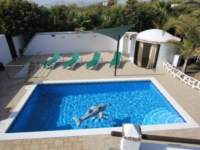 Photo for Wow! Contempory Rustic,6662 Bed, H/pool,private, H/tub,Wifi,jacuzzi Sheer Luxury