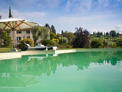 Photo for Villa le Grotte, magnificent Villa very close to Verona with wonderful views