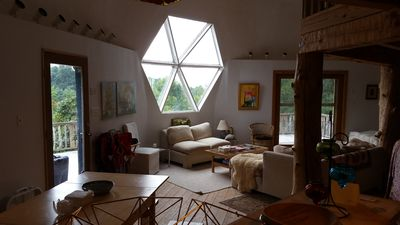 Photo for Geodesic dome home 8 miles south of the Omni Homestead Resort in Hot Springs, VA