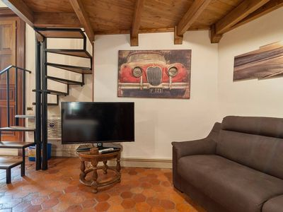Photo for Porta Napoli apartment in Lecce with WiFi & air conditioning.