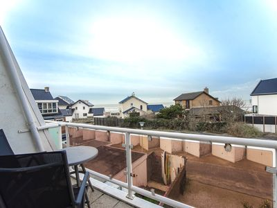 Photo for Pension Maris double room 'Ocean' with sea view & balcony