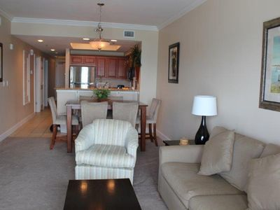 Photo for Seawind 1008 - Great beachfront condo & great location! 2BD, plus kid's bunk room.