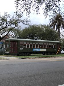 Streetcar is 2 blks away and will bring you to the French quarter!