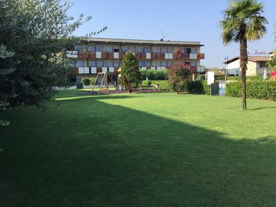 Photo for TERME GOLF AND FAMILY sunny and quiet apartment in Sirmione