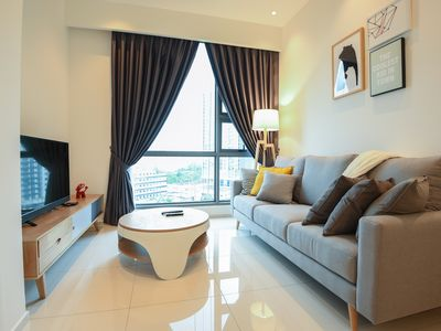 Photo for Bukit Bintang 1 Bedroom Luxurious Home For 4 pax.